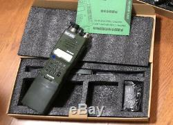 TRI AN/PRC 152 Multiband 12.6V 10W Handheld Radio MBITR Aluminum Walkie Talkie