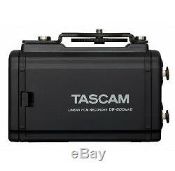 Tascam 4-Channel Linear PCM Audio Portable DSLR Film Recorder/Mixer DR-60DmkII