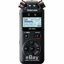 Tascam DR-05X Stereo Handheld Digital Audio Recorder & USB Audio Interface