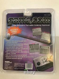 Tiger Game. Com NEW Handheld Console 2 SLOTS System WithGAME & UNOPENED PACKAGING