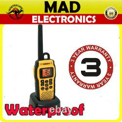 Uniden Mhs050 Handheld Boat Marine Vhf Radio Waterproof Float Water Ship Jetski