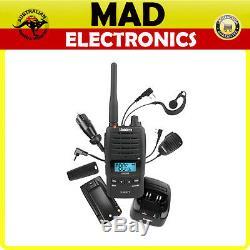 Uniden Uh850s Deluxe 5w Uhf 80 Ch Handheld Cb Uhf Radio Waterproof