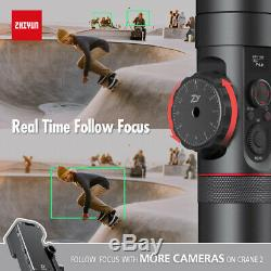 Used Zhiyun Crane 2 3-Axis Gimbal Stabilizer (with Follow Focus) for DSLR Camera
