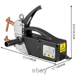 VEVOR Electric Spot Welder 230V Portable Handheld Welding Tip Gun 2.0 +2.0mm