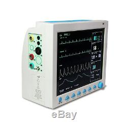 Vet Veterinary Patient Monitor 6 Parameter, ECG, NIBP, PR, Spo2, Temp, Resp, CE, FDA