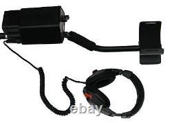 Visua Underwater Discriminating Metal Detector Waterproof Headphones 25cm Coil
