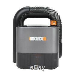 WORX WX030 18V (20V MAX) CUBEVAC Cordless Compact Vacuum Cleaner 2.0Ah Battery