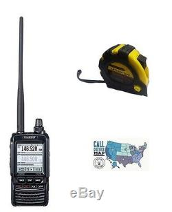 Yaesu FT-2DR Dual-band VHF/UHF Handheld Radio with FREE Radiowavz Antenna Tape