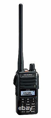 Yaesu FT-65R VHF/UHF 2 Meter/70cm Dual Band FM Handheld Transceiver