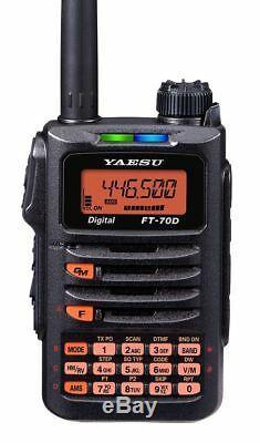 Yaesu FT-70DR C4FM FDMA / FM DUAL BAND Handheld Transceiver Mars/Cap Modified