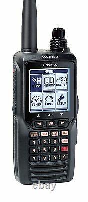 Yaesu VHF NAV/COM Handheld Radio with Li-Ion Battery FTA-550L