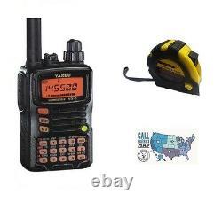Yaeus VX-6R VHF/UHF 5W Handheld Radio with FREE Radiowavz Antenna Tape