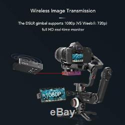 Zhiyun Crane 3 LAB 3-Axis Handheld Stabilizer Gimbal f. Mirrorless DSLR Cameras