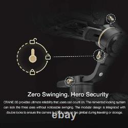 Zhiyun Crane 3S 3 Axis Handheld Gimbal Stabilizer For DSLR