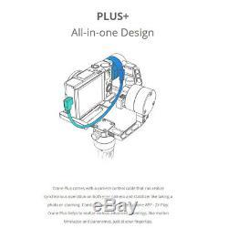 Zhiyun Crane Plus Handheld Gimbal Stabilizer For DSLR Mirrorless 2.5kg Payload