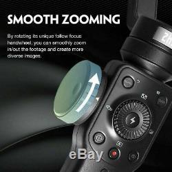 Zhiyun Smooth 4 Handheld Gimbal Stabilisator 3-Achsen für Smartphone/Gopro Hero