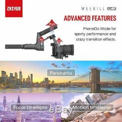 Zhiyun WEEBILL LAB Stabilizer Gimbal 3-Axis for Mirrorless Cameras Canon Sony